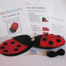 Make your own ladybird - felt craft kit