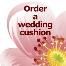 Personalised Wedding Cushion