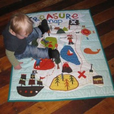 Pirate Quilt (Cot) or Playmat